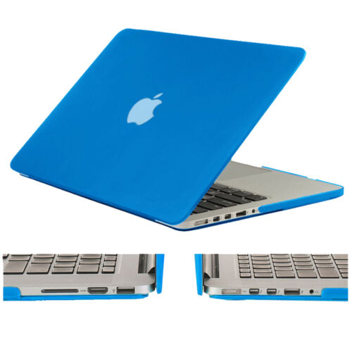 """Rubberized Shockproof Hard Case Cover for Macbook Air /& Pro /& Retina 11/"""" 13/"""" 15/"""""""