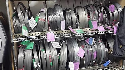 """PHOSPHOR BRONZE spring wire 510 H08 - SIZE .0641"""" / 1.63mm - 15 FEET  CONDUCTIVE"""
