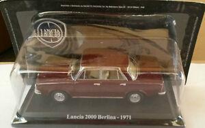 DIE-CAST-034-LANCIA-2000-BERLINA-1971-034-TECA-RIGIDA-BOX-2-SCALA-1-43