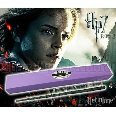 "Harry Potter Hermione Granger 37cm/14.8"" Resin Replica Magical Wand Cosplay NIB"