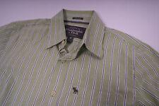 Abercrombie und Fitch Herren Mucle Hemd Grün Größe M