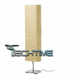 LAMPADA-LED-IKEA-MAGNARP-DA-TERRA-A-PIANTANA-MODERNO-NATURALE-144CM-A-40W-E14