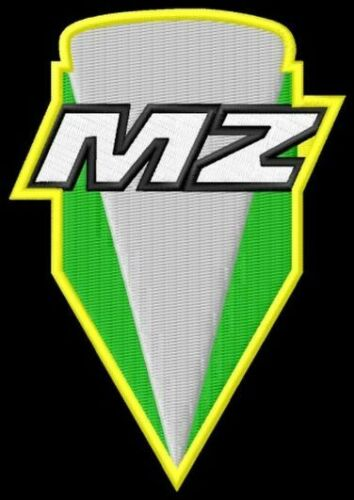 MZ new logo ricamate iron-on patch