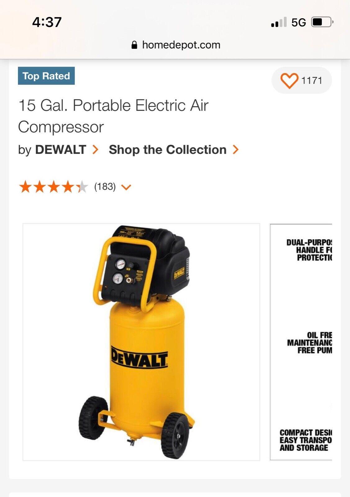 DEWALT D55168 BRAND NEW in box.. Buy it now for 375.00