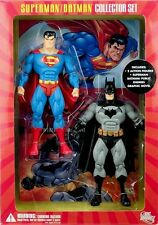 DC COMICS NEW! SUPERMAN BATMAN: PUBLIC ENEMIES ACTION FIGURE BOX SET W/COMIC