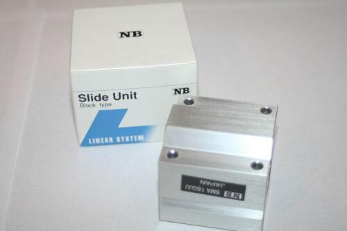 NEW * Nippon Bearing NB SMA16GUU Pillow Block Slide Unit SMA-16-GUU 16MM