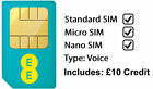 EE - Pay as You Go Nano SIM Card for iPhone 6 6plus 5 5c 5s