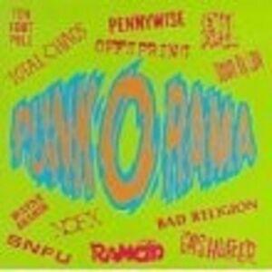 PUNK-O-RAMA-I-CD-NEW-ROCK-MIT-PENNYWISE-UVM