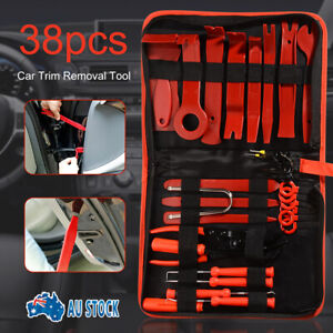 Car-Trim-Removal-Tool-Set-38x-Hand-Tools-Pry-Bar-Panel-Door-Clip-Interior-Kit-AU
