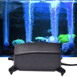 Adjustable-Ultra-Silent-2W-Aquarium-Air-Pump-Fish-Tank-Increasing-Oxygen-Pump-CW