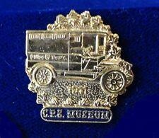 HTF Historical 1911 Calgary Police Car Van Truck Beautiful 3D Relief Lapel Pin