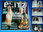 RED HOT CHILI PEPPERS, full magazine BLITZ, incl.cover + 9-page article,PORTUGAL