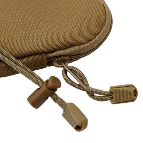 Hot EDC Key Bag Tactical Coins Pouch MP3 Keychain Holder Case Bag New LA
