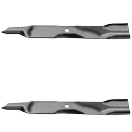 """Oregon 592-615 21-3//8/"""" G5 Gator Toothed Mulching Blade John Deere 42/"""" Cut Decks"""