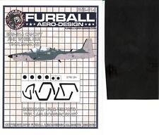 Furball Decals 1/48 EMB-314 SUPER TUCANO Canopy & Wheel Hub Vinyl Mask Set