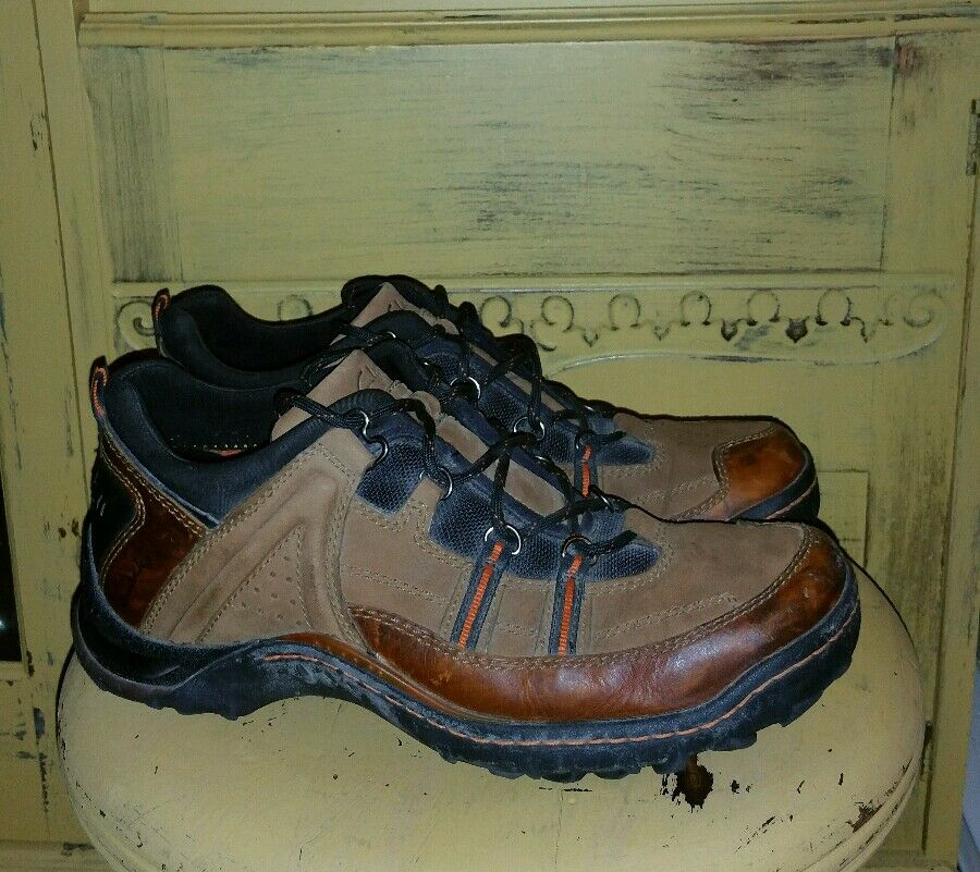 CLARKS 73191 BROWN LEATHER MENS HIKING  SHOES 9 M TRAIL WALKING  more affordable