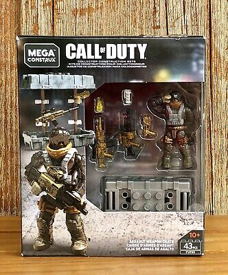 MEGA CONSTRUX Call of Duty FVF99 Assault Weapon Crate NEW!