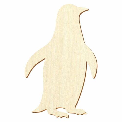 Holz Pinguin 3-50cm Höhe Basteln Deko
