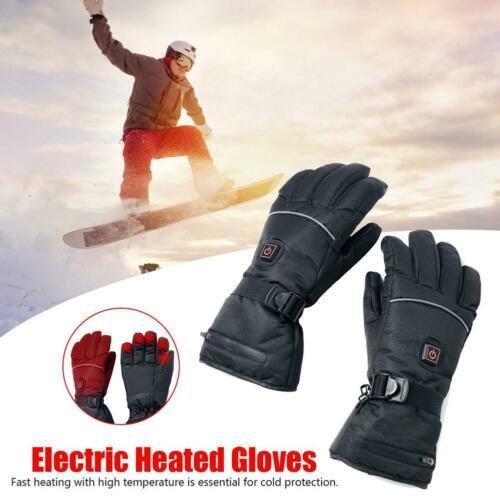 Outdoor Motorcycle Electric Heated Gloves Warmer Hands Rechargeable Battery