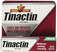 Tinactin Antifungal Cream - Cures Most Athlete's Foot .5oz Each on sale