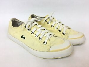 lacoste shoes yellow off 50% - www