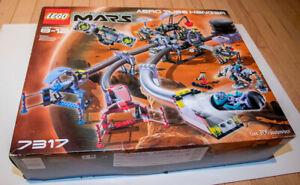 LEGO-7317-Life-on-Mars-Aero-Tube-Hanger-with-Box-amp-Instructions