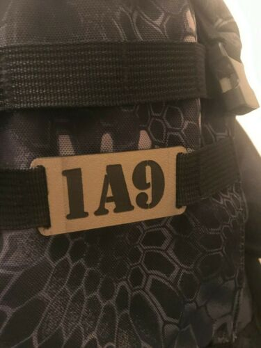 kydex molle name tag
