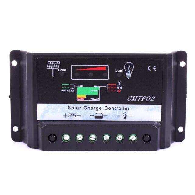 30A MPPT Solar Panel Battery Regulator Charge Controller 12V/24V Auto Switch #!!