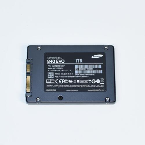 "SAMSUNG 840 EVO 1TB SATA III 2.5/"" SSD Solid State Drive MZ7TE1T0HMHP 90/%"
