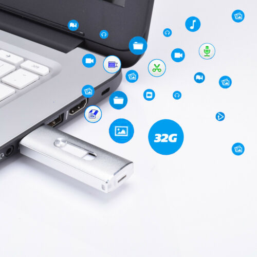 32//64G USB3.0 OTG Pendrive Thumb Drive Memory Stick Flash Drive For iPhone 7 8 X