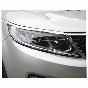 Headlight Bezels for 2011-2012 Kia Sorento [Chrome ...