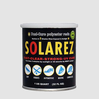 Solarez Low-VOC Dual-Cure Polyester Resin Quart