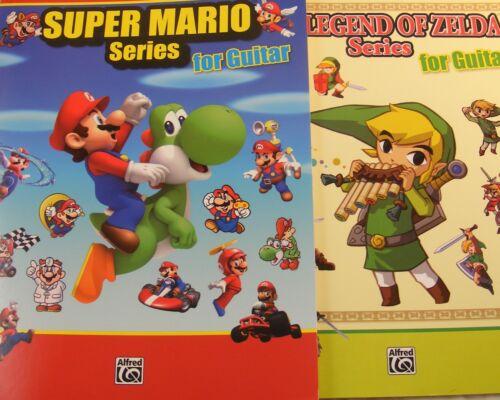 Video Game GUITAR TAB Sheet Music Combo Pack Super Mario Gift Zelda