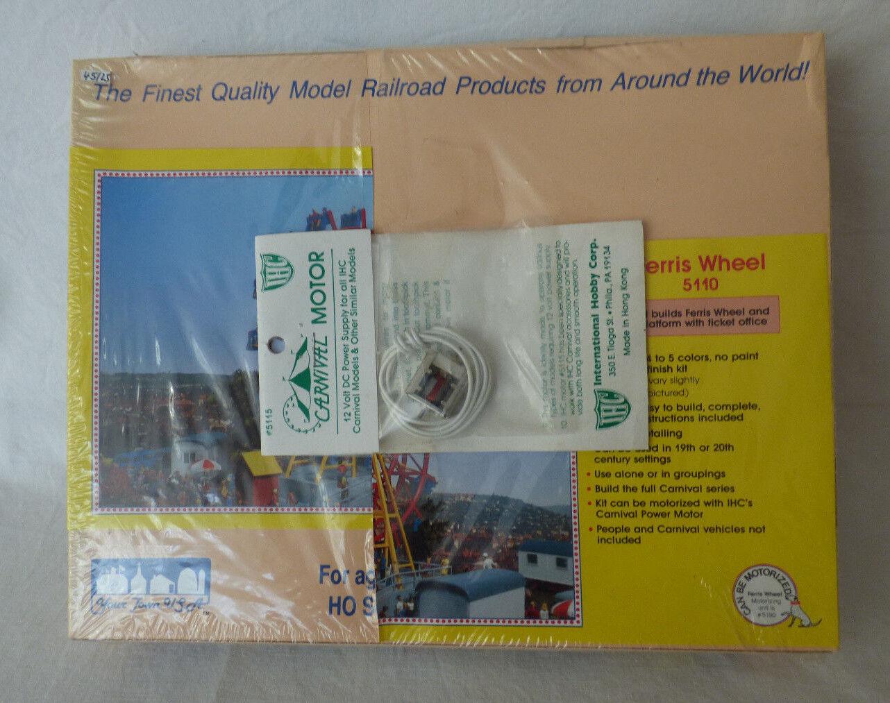 International Hobby Ferris Wheel 5110  + Carnival Motor  Bausatz KIT  1  87