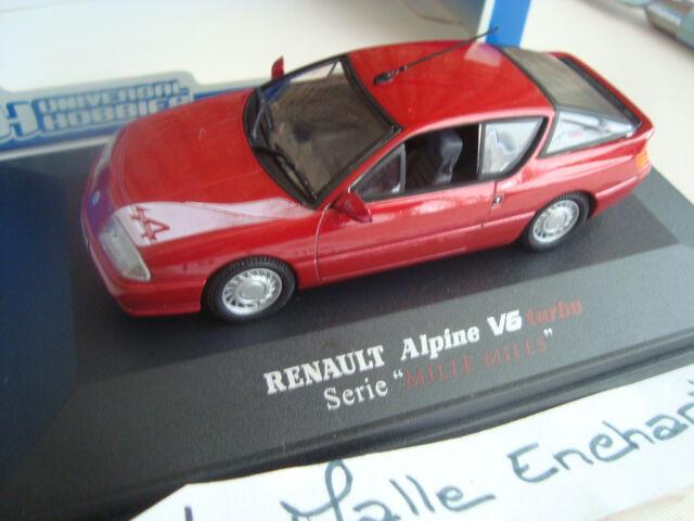 Miniatur Alpine Renault hat 310 V6 Turbo Mille Meilen 1/43 in Schachtel Plexi
