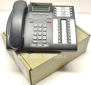 Avaya-Nortel-Norstar-T7316E-Display-Phone-Telephone-NT8B27-Charcoal-NEW