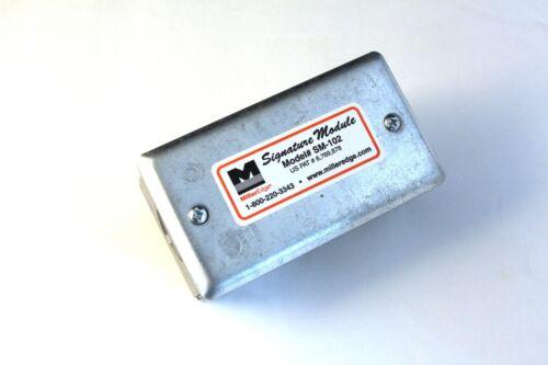 Model # SM-102 Miller Edge Signature Module