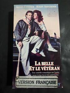 La-Belle-Et-Le-Veteran-VHS-French-Version-1988-Kevin-Costner-Susan-Saradon
