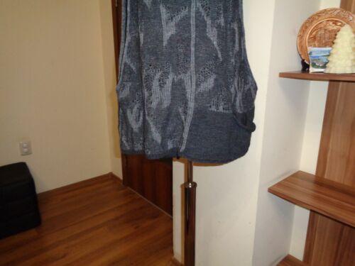 en à en ouverte graphite Pacini tricot osfa Débardeur Sarah oversize armure nwZA8SxRFq