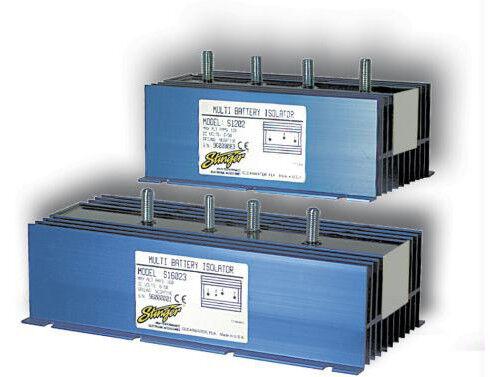Stinger S2402 Car Audio Premium Quality 240 Amp 3-Post Batt Isolator Relay Pack