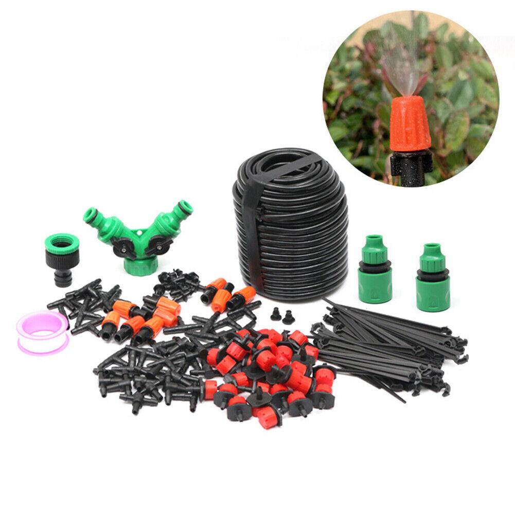 5m/30m Spray Drip Head Mix Set Adjustable Automatic Watering Home Gardening Tool