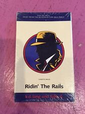 Cassette Single Dick Tracy Madonna K.d. Lang Ridin the Rails w/ Take 6 (Not cd)