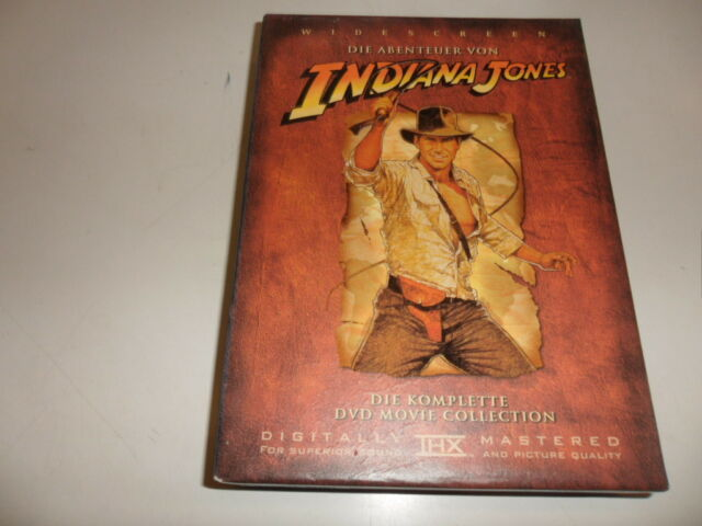 DVD  Indiana Jones - Die komplette DVD Movie Collection