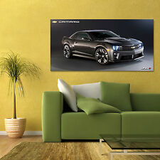 CHEVY CAMARO ZL1 CARBON EDITION CHEVROLET LARGE AUTOMOTIVE POSTER 24x48in