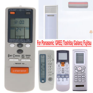 Details about Air Conditioner Remote Controller for Panasonic GREE Toshiba  Galanz Fujitsu Lot