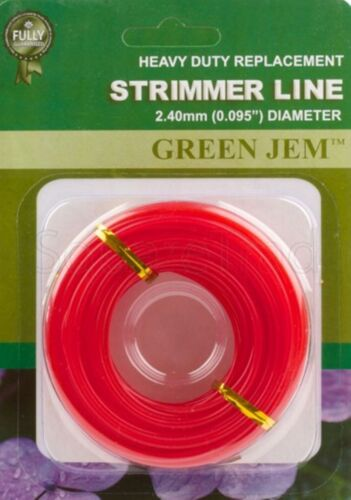 Rotofil Line Green Jem Essence désherbeuses électriques 2.40 mm Rolls