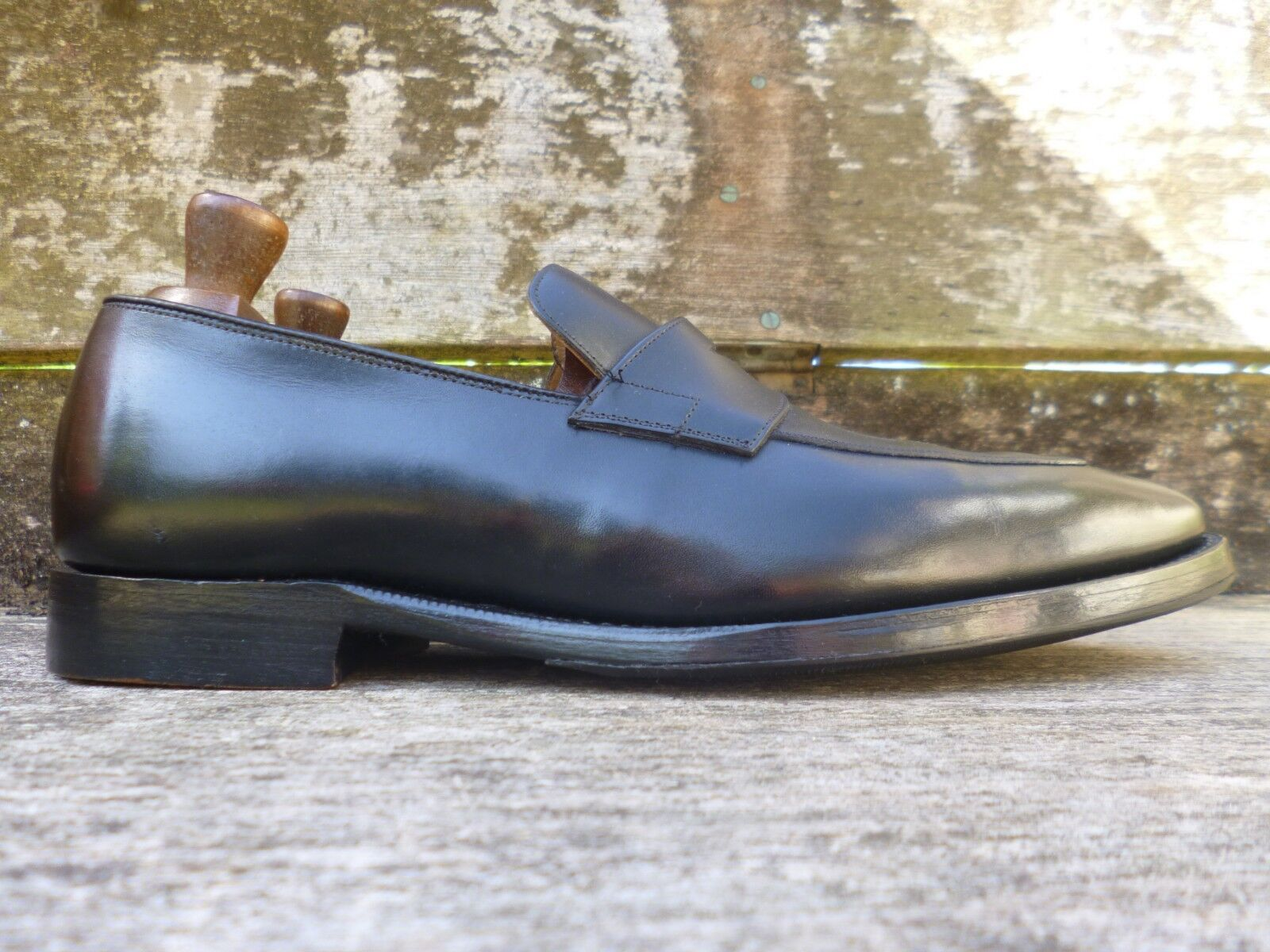 CHURCH LOAFERS – schwarz - UK UK UK 6.5 – SWANLEY - EXCELLENT CONDITION e6d34c