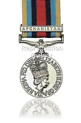 FULL SIZE OPERATIONAL SERVICE MEDAL OSM AFGHANISTAN MEDAL RIBBON