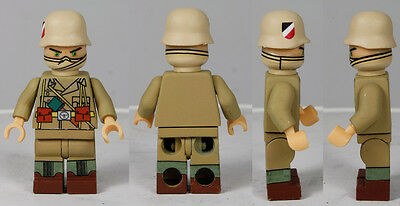 Military Army WWII German Afrika Korps Squad 9 Custom Figures HOT ITEM !!!