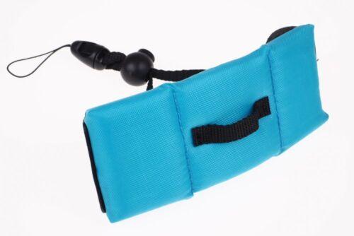 Waterproof schwimmende Unterwasser Handschlaufe Gurt Riemen Digitalkameras BLAU